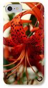 Wild Smokies Lily IPhone Case by Karen Wiles