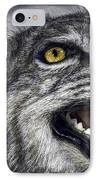Wildcat Ferocity IPhone Case by Daniel Hagerman
