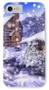 Winter Creek IPhone Case by Mo T