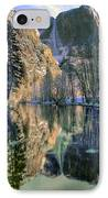 Winter Falls IPhone Case by Bill Gallagher