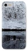 Winter Reflections IPhone Case by Steven Milner
