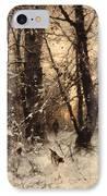 Winter Twilight IPhone Case by Ludwig Munthe