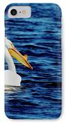 Wisconsin Pelican IPhone Case by Thomas Young