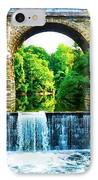 Wissahickon Falls IPhone Case by Bill Cannon