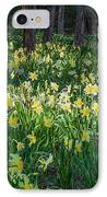 Woodland Daffodils IPhone Case by Bill Wakeley