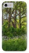 Woodland Phlox 2 IPhone Case by Steve Harrington