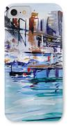 Work And Play IPhone Case by Shirley  Peters