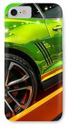 2012 Chevy Camaro Hot Wheels Concept IPhone Case by Gordon Dean II