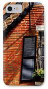 Boston House Fragment IPhone Case by Elena Elisseeva