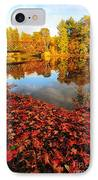 Burst Of Colors IPhone Case by Catherine Reusch  Daley