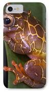 Clown Tree Frog IPhone Case by Dante Fenolio