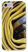 Coiled Fire Hose IPhone Case by Skip Nall