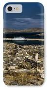 Delos Island IPhone Case by David Smith