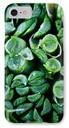 Fresh Chives IPhone Case by Susan Herber