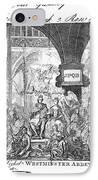 George IIi: Coronation, 1761 IPhone Case by Granger
