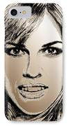 Hilary Swank In 2007 IPhone Case by J McCombie