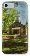 Lutz-franklin Schoolhouse IPhone Case by Paul Ward