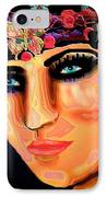 Madame Butterfly IPhone Case by Natalie Holland