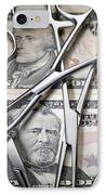 Medical Costs IPhone Case by Tek Image