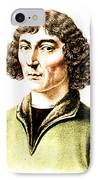 Nicolaus Copernicus, Polish Astronomer IPhone Case by Science Source