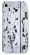 Old Painted Wood Abstract IPhone Case by Elena Elisseeva