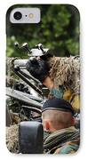 A Recce Or Scout Team Of The Belgian IPhone Case by Luc De Jaeger