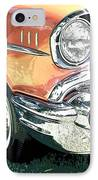 1957 Chevy IPhone Case by Steve McKinzie