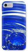 Water Drop Impact, High-speed Photograph IPhone Case by Crown Copyrighthealth & Safety Laboratory