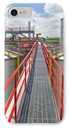 Corn Ethanol Processing Plant IPhone Case by David Nunuk