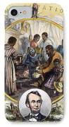 Emancipation Proclamation IPhone Case by Granger