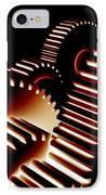 Gear Wheels, Artwork IPhone Case by Pasieka