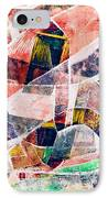 Abstract Composition IPhone Case by Michal Boubin