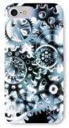 Gears Wheels Design  IPhone Case by Setsiri Silapasuwanchai