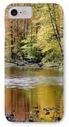 Williams River Autumn IPhone Case by Thomas R Fletcher
