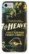 7th Heaven IPhone Case by Georgia Fowler