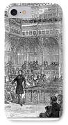 Benjamin Disraeli (1804-1881) IPhone Case by Granger
