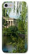 A View Of The Parthenon 9 IPhone Case by Douglas Barnett