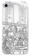 Abolition Cartoon, 1859 IPhone Case by Granger