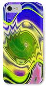 Abstract Fusion 157 IPhone Case by Will Borden