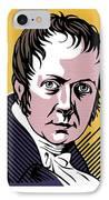 Alexander Von Humboldt, German Naturalist IPhone Case by Smetek