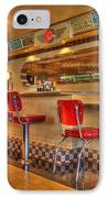 All American Diner 2 IPhone Case by Bob Christopher