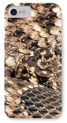 An Abstract Danger IPhone Case by JC Findley