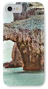 Anacapa Island 's Arch Rock IPhone Case by Cheryl Young
