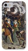 Anti-catholic Mob, 1844 IPhone Case by Granger