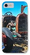 Antique Auto Sales IPhone Case by Steve McKinzie