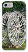 Antique Paddle Wheel University Of Alabama Birmingham IPhone Case by Kathy Clark