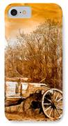 Antique Wagon IPhone Case by Bob and Nadine Johnston