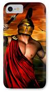Ares IPhone Case by Lourry Legarde