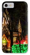 Assembly Hall Slc Christmas IPhone Case by La Rae  Roberts