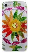 Autumn Chakra IPhone Case by Sonali Gangane